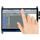 7inch Capacitive Touch Screen LCD (C), 1024×600, HDMI, IPS, Low Power