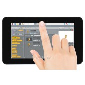 7inch Capacitive Touch IPS Display for Raspberry Pi, with Protection Case, 1024×600, DSI Interface