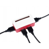 USB HUB BOX for Raspberry Pi Zero Series, 4x USB 2.0 Ports