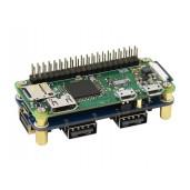 USB HUB HAT (B) for Raspberry Pi Series, 4x USB 2.0 Ports