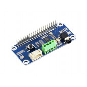 WM8960 Hi-Fi Sound Card HAT for Raspberry Pi, Stereo CODEC, Play/Record