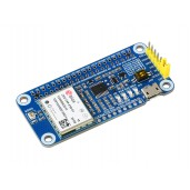 ZED-F9P GPS-RTK HAT for Raspberry Pi, Centimeter Level Accuracy, Multi-Band RTK Differential GPS Module